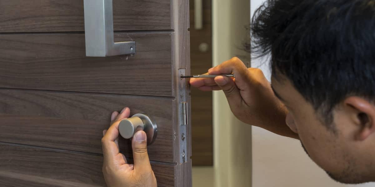 inbraakbeveiliging deur